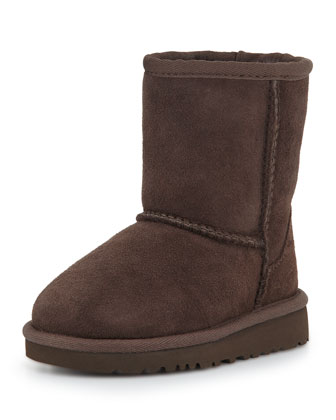 Kids' Classic Boot, Chocolate, 13T-4Y