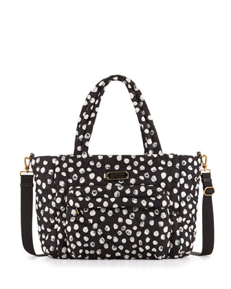 Elizababy Crosby Dee-Lite Dot Diaper Bag