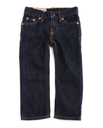 Slim-Fit Denim Jeans, Vestry Wash, Size 2-7