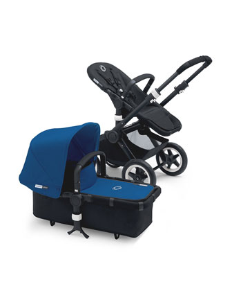 Buffalo Stroller Base, Black