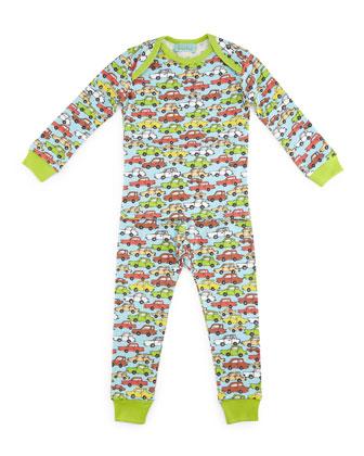 Hot Wheels Pajama Shirt & Pants, Light Blue, Size 2T-8