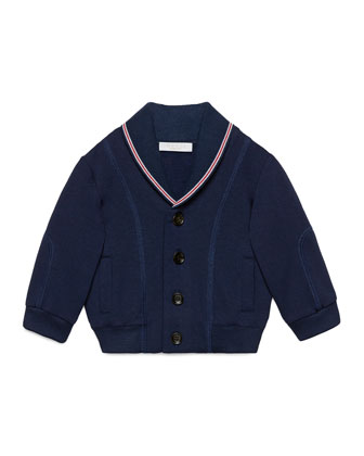 Long-Sleeve Button-Front Cardigan, Overseas, Size 6-36 Months
