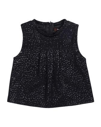Sleeveless Woven Blouse, Size 8-14