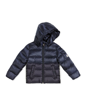 Aymeric Puffer Coat, Navy, Size 12M-3