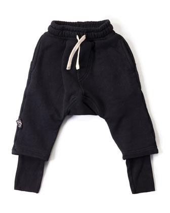 Cotton Ninja Pants, Black