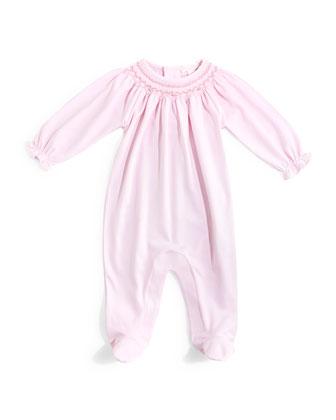 CLB Fall Bishop Pima Footie Pajamas, Pink, Size Newborn-9 Months