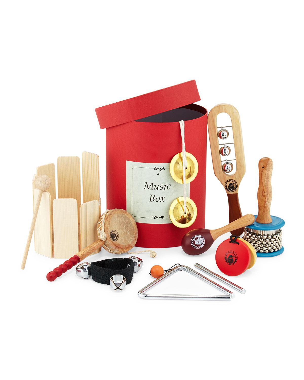 Musical Instrument Gift Set, Tan - Manufaktur Weiner