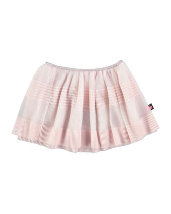 Belma Striped Skirt, Pink, Size 3-24 Months