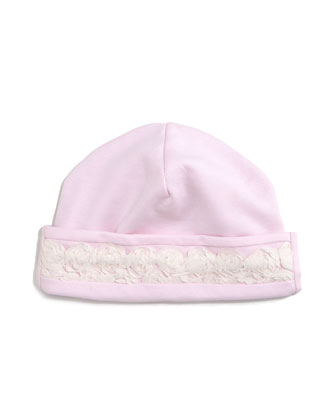 Winter Roses Pima Jersey Dress w/ Leggings, Footie Pajamas, Baby Hat & ...