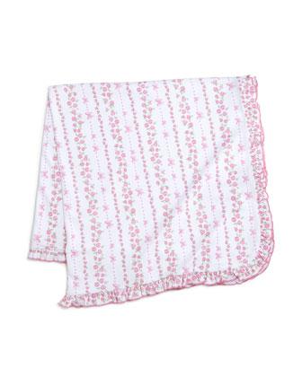 Rosebud Ribbons Pima Footie Pajamas w/ Jacket, Baby Hat, Bib & Blanket ...