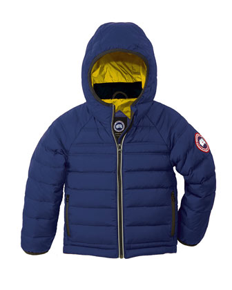 Bobcat Hooded Puffer Coat, Pacific Blue, Size 2-7