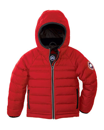 Bobcat Hooded Puffer Coat, Size 2-7