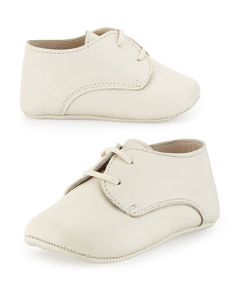 Leather Oxford Shoe, Infant
