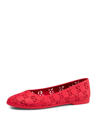Rubber GG Ballet Flat, Youth