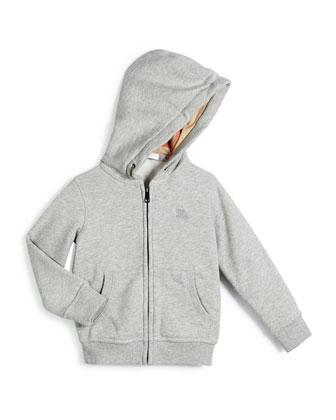 Pearce Hooded Fleece-Lined Sweater, Size 4-14