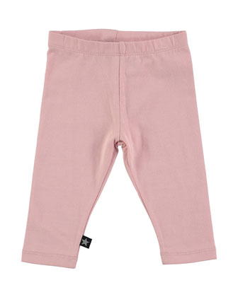 Nette Stretch-Jersey Pants, Sponge, Size 12-24 Months