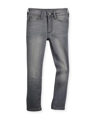 Chloe Faded Skinny Jeans, Porcupine, Size 2-6