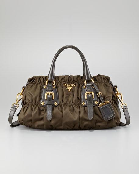 Tessuto Gaufre Satchel Bag