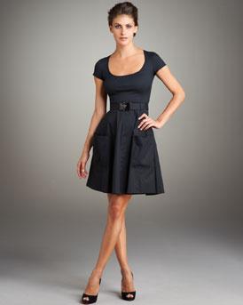 Prada Full Skirt Dress