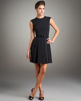 Prada Pleated Techno Dress