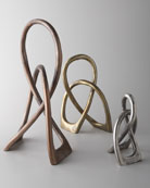 Aged Metal Sculptures