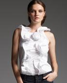 Oscar de la Renta-Long Jacket & Stretch Denim Jeans-Neiman Marcus from neimanmarcus.com