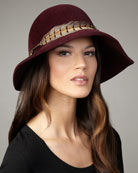 Eugenia Kim Carly Boho Cloche Hat