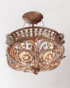 La Crystal Light Fixture