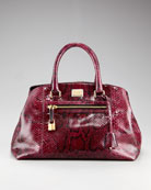 Dolce & Gabbana Python Doctor Bag