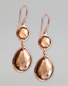 Ippolita Rose Gold Earrings