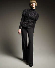Piazza Sempione File Coupe Cropped Jacket & Marilyn Wide-Leg Pants