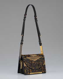 Lanvin Runway Tortoise Shoulder Bag