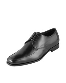 Prada Polished Leather Oxford