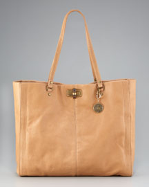 Lanvin Happy Shopping Tote, Beige
