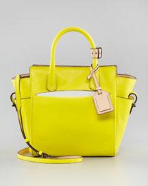 ...кожаный ремешок через плечо - маленькая сумочка для большой любви, то...