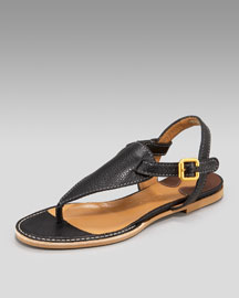 Chloe Flat Thong Sandal