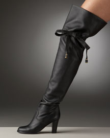 Chloe Cinched Over-The-Knee Boot