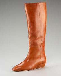 Loeffler Randall Demi-Wedge Knee Boot