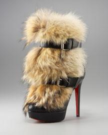 Christian Louboutin Toundra Fur Boot