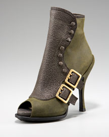 Dior Buckle Detail Bootie