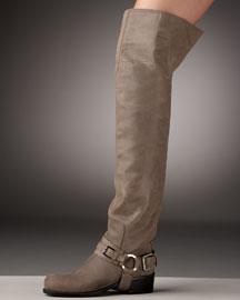 Dior Over-the-Knee Biker Boot