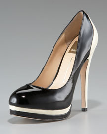 Dolce Vita Dorothy Patent Colorblock Pump