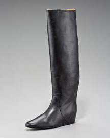 Lanvin Hidden-Wedge Knee Boot