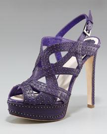 Dior Audance Studded Platform Sandal