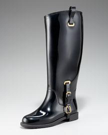 Ralph Lauren Odette Rubber Rain Boot