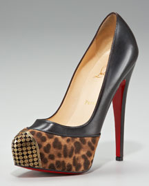 Christian Louboutin Maggie Leopard-Toe Pump