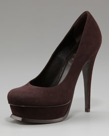 Yves Saint Laurent Tribute Suede Pump
