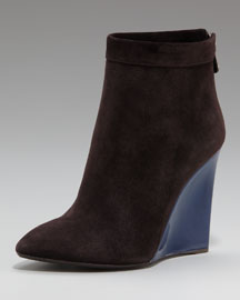 Bottega Veneta Colorblock Wedge Bootie