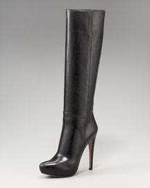 Prada Tall Hidden Platform Boot