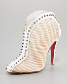 Christian Louboutin Bourriche Studded Ankle Boot